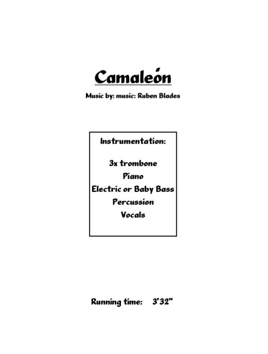 el camaleon de ruben blades